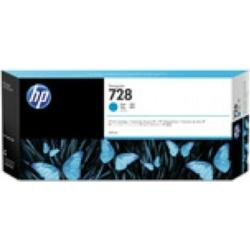 HP No.728 300-ml Cyan InkCart F9K17A (Eredeti)