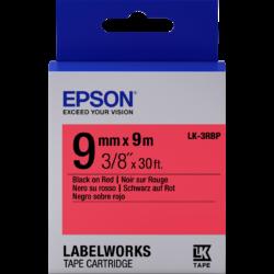 Epson LK-3RBP Black/Red 9mm szalag (9m)