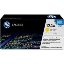 HP Q6002A Toner Yellow 2k No.124A (Eredeti)