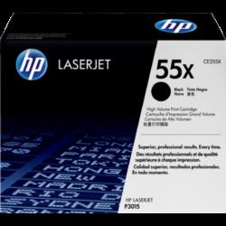 HP CE255X Toner Black 12,5k No.55X (Eredeti)