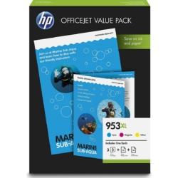 HP 1CC21AE Patron 3Pack C/M/Y No.953XL