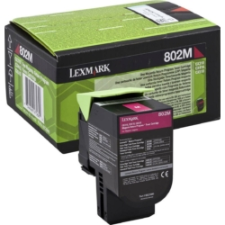 Lexmark CX310/410/510 Return Toner Magenta 1K (Eredeti) 80C20M0