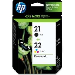 HP SD367AE Patron 2-pack No.21/22 (Eredeti)