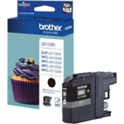 Brother LC123BK tintapatron (Eredeti)