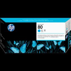 HP C4821A P.head&Cleaner Cy No.80 (Eredeti)