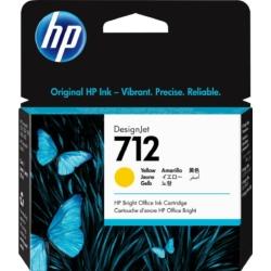 HP 3ED69A Patron Yellow 29ml No.712 (Eredeti)