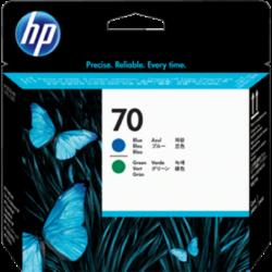 HP C9408A Phead Blue/Green No.70 (Eredeti)