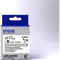Epson LK-6WBA11 Black/White D11mm szalag(2.5m)