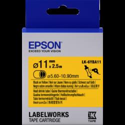 Epson LK-6YBA11 Black/Yellow D11mm szalag (2.5m)