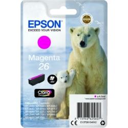 Epson T2613 Patron Magenta 4,5ml 26 (Eredeti)