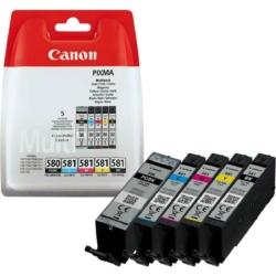 Canon PGI580/CLI581 PGBk/C/M/Y/Bk /EREDETI/