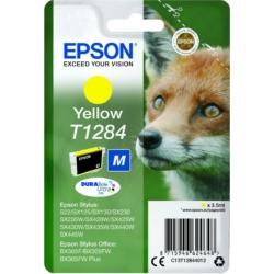 Epson T1284 Patron Yellow 3,5ml (Eredeti)