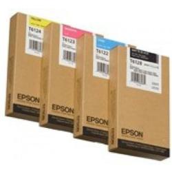 Epson T6128 Patron Matt Black 220ml (Eredeti)