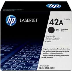 HP Q5942A Toner Black 10k No.42A (Eredeti)
