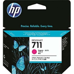 HP CZ135A Patron 3Pack Magenta 29ml No.711 (Eredeti)