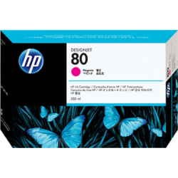 HP C4847A Patron Magenta 350ml No.80 (Eredeti)