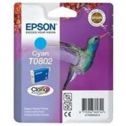 Epson T0802 Patron Cyan 7,4ml (Eredeti)