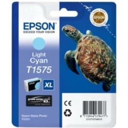 Epson T1575 Patron Light Cyan 26ml (Eredeti)