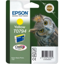 Epson T0794 Patron Yellow 11ml (Eredeti)