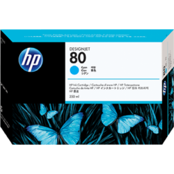 HP C4846A Patron Cyan 350ml No.80 (Eredeti)