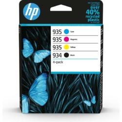 HP 6ZC72AE Patron 4Pack No.934/935 (Eredeti)