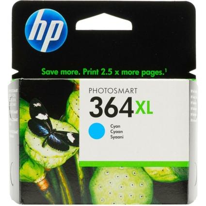 HP CB323EE Patron Cyan No.364XL (Eredeti)