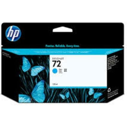 HP C9371 Patron Cyan 130ml No.72 (Eredeti)