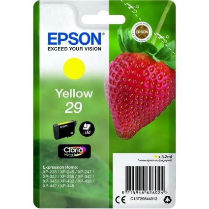 Epson T2984 Patron Yellow 29 (Eredeti)