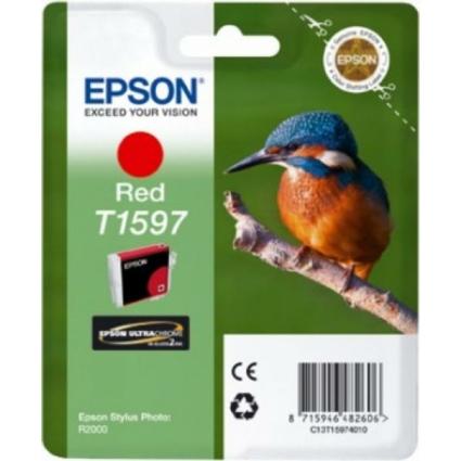 Epson T1597 Patron Red 17ml (Eredeti)