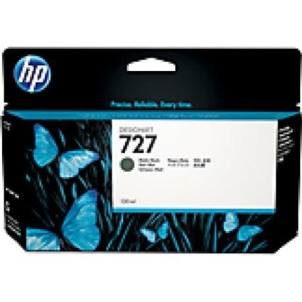 HP B3P22A Patron Matt Bk 130ml No.727 (Eredeti)