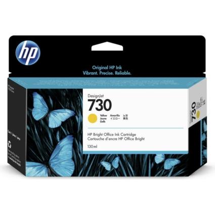 HP P2V64A Patron Yellow 130ml No.730 (Eredeti)