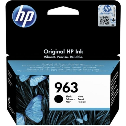 HP 3JA26AE Patron Black No.963 (Eredeti)
