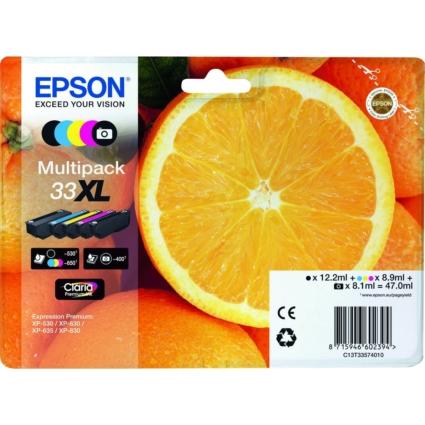 Epson T3357 Patron Multipack 33XL (Eredeti)