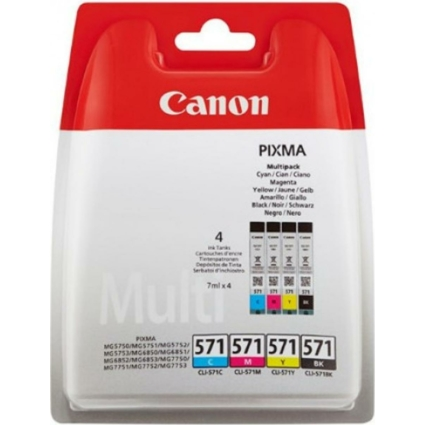 Canon CLI571 PatronMULTI C/M/Y/Bk
