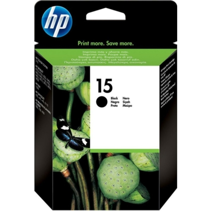 HP C6615DE Patron Black No.15 (Eredeti)