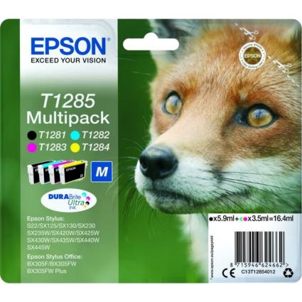 Epson T1285 Multipack Standard capacity patronok (Eredeti)