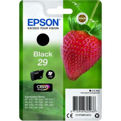 Epson T2981 Patron Black 29 (Eredeti)
