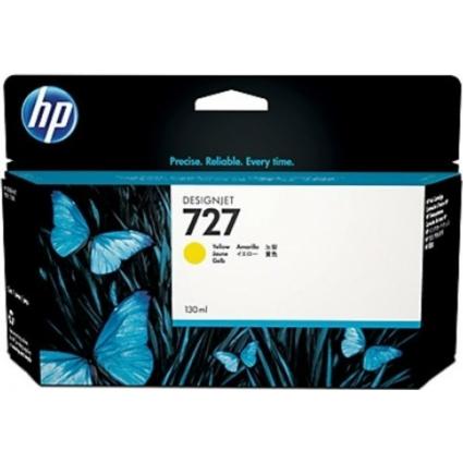 HP B3P21A Patron Yellow 130ml No.727 (Eredeti)