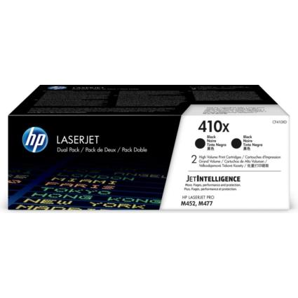 HP CF410XD Dupla Toner Bk 6,5k No.410X (Eredeti)