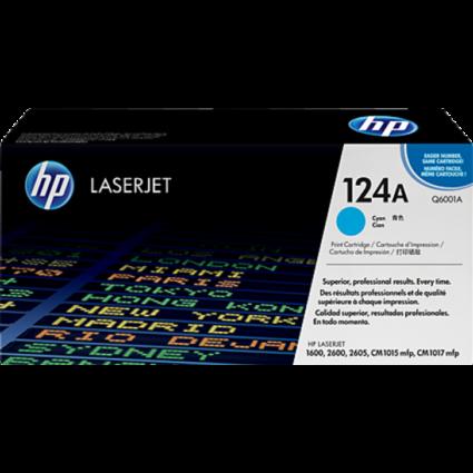 HP Q6001A Toner Cyan 2k No.124A (Eredeti)