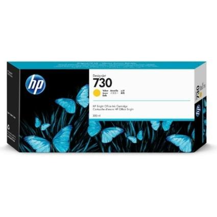HP P2V70A Patron Yellow 300ml No.730 (Eredeti)