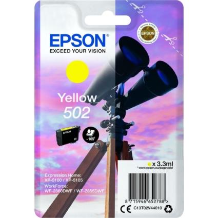 Epson T02V4 Patron Yellow 3,3ml (Eredeti)