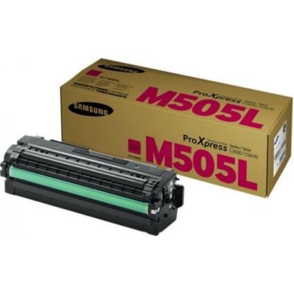 Samsung SLC2620/2670 Magenta Toner  CLT-M505L/ELS (SU302A) (Eredeti)