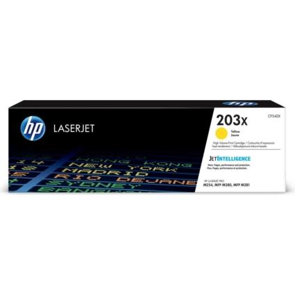 HP CF542X Toner Yellow 2,5k No.203X (Eredeti)