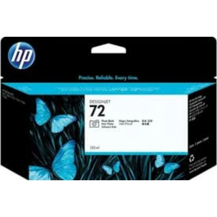 HP C9370 Patron Ph.Black 130ml No.72 (Eredeti)