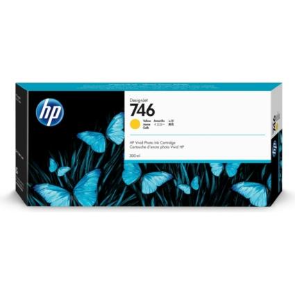 HP P2V79A Patron Yellow 300ml No.746 (Eredeti)