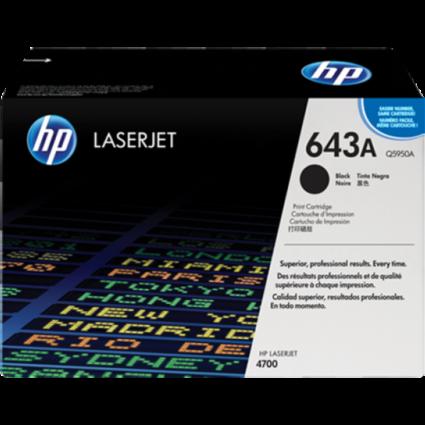 HP Q5950A Toner Black 11k No.643A (Eredeti)