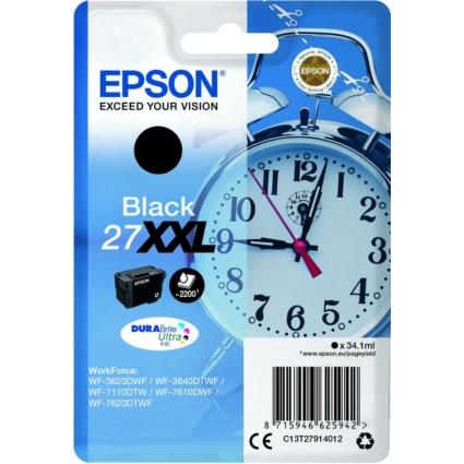 Epson T2791 Patron Black 34,1ml (Eredeti)
