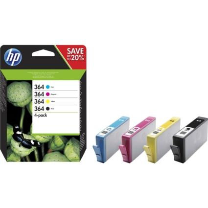 HP N9J73AE Patron 4pack No.364 (Eredeti)