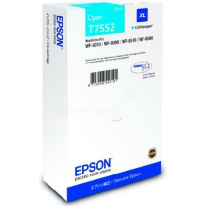 Epson T7552 Patron Cyan 4K (Eredeti)